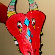 Fun things to do with kids in CT, A Chinese New Year activity with kids in CT, Dragon Sock Puppet Craft with kids