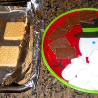 Fun things to do with kids in CT, A Kid Friendly Recipe to make with kids in CT, Making S'mores Indoors with kids