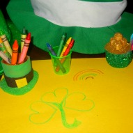 A Fun thing to do with kids in Connecticut, A St. Patrick's Day Craft, A Fun thing to do with kids, craft with kids, Kid friendly things to do in Connecticut